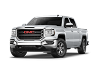 GM Fleet 2018 Camion pick-up poids léger GMC Sierra 1500 2018 des Parcs GM.GMC Sierra 1500 light-duty pickup truck.